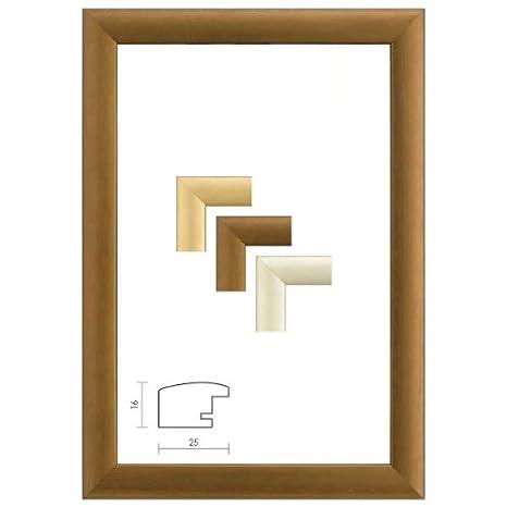 Alurahmen IMAGE  mit Antireflexglas Bilderrahmen Alu Rückwand /& Schwenkfedern