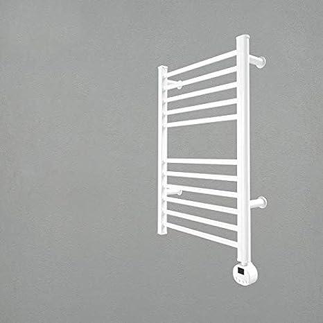 """Size:54/×45/×12cm F/ür Badezimmer Beheizter Handtuchhalter Aus Edelstahl 304 Luxus-elektrischer Handtuchhalter Zur Wandmontage Mit 4 Stangen /""""N//A/"""" Elektrischer Beheizter Handtuchhalter Gold Plugin"""