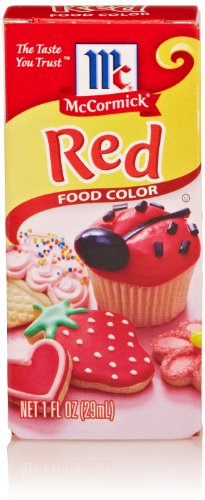 McCormick Red Food Color, 1 Oz