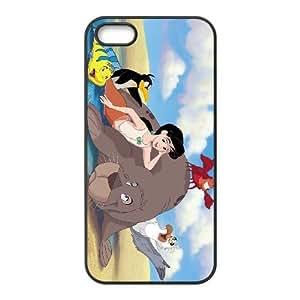 iphone5 5s Black phone case Classic Style Disney Cartoon Little Mermaid II Return to the Sea OBN8938534