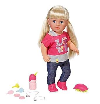 amazon com zapf creation baby born sister doll toys games