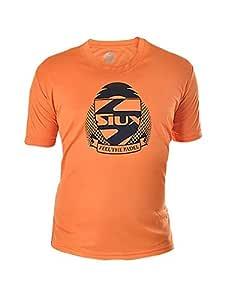 Siux Camiseta Dry Naranja Negro: Amazon.es: Deportes y aire ...