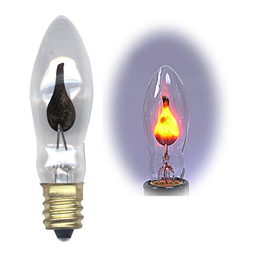 national artcraft flicker flame light bulb dances with a. Black Bedroom Furniture Sets. Home Design Ideas