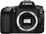Canon DSLR Camera [EOS 90D] with Built-in Wi-Fi, Bluetooth, DIGIC 8 Image Processor, 4K Video, Dual Pixel CMOS