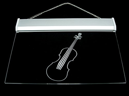 Violins Music School Lesson Led Light Sign
