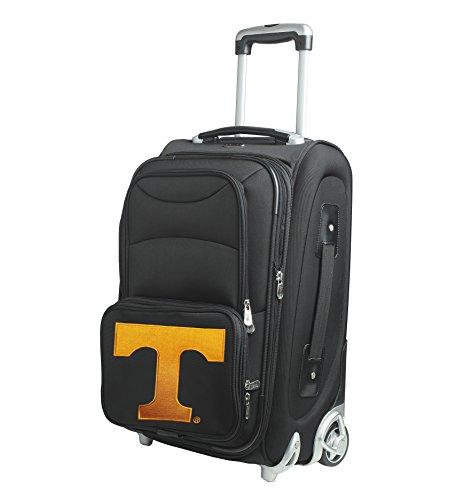 NCAA Tennessee Volunteers In-Line Skate Wheel Carry-On Luggage, 21-Inch, Black by Denco