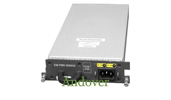 used condition.C CISCO C3K-PWR-265WAC WS3750 AC power supply 265WAC