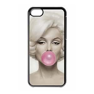 Marilyn Monroe iPhone 5c Cell Phone Case Black xlb-154695