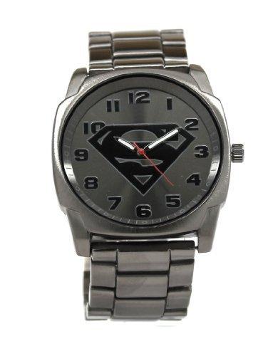 superman-gray-logo-watch-with-gun-metal-bracelet-band-sup8024