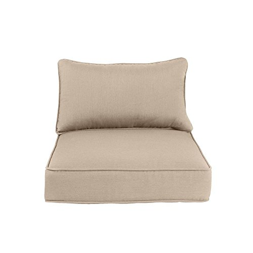 Greystone Sparrow Replacement Patio Lounge Chair Cushion (Jordan Cushions Replacement)
