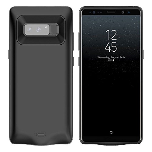 Ocamo Portable External Charging Case 5500mAh Extended Battery Protective Case Power Pack for Samsung Galaxy Note 8