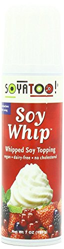 Soy Whipped Topping - Soyatoo Soy Whip Can, 7 Ounce