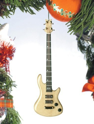 Christmas Bass - Fender Bass Guitar by Broadway Gifts