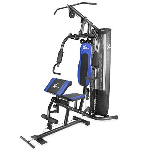 XtremepowerUS Multi-Function Trainer Home Gym Station Workout Machine Whole Body Weight Training Total Body Training best to buy
