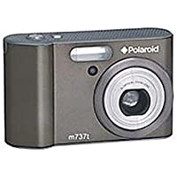 Polaroid M737T 7.0 Megapixels Digital Camera - 3x Optical Zoom/4x Digital Zoom - 3-inch LCD Display - Gun Metal Gray (Certified Refurbished)