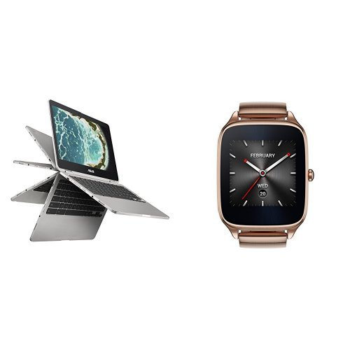 Price comparison product image Chromebook and Zenwatch