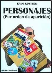 Book PERSONAJES (POR ORDEN DE APARICION) (Spanish Edition)