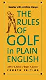 img - for The Rules of Golf in Plain English, Fourth Edition by Jeffrey S. Kuhn (2016-04-27) book / textbook / text book