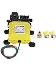 Hogedrukpomp Membraan, 12V 120W 8L Membraan Hogedrukpomp met Koperen Connector Automatische Waterinjectie Pomp