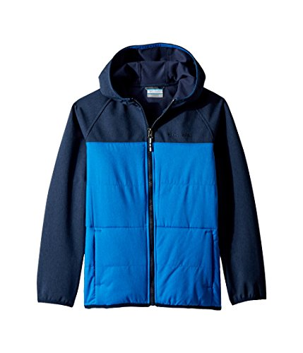 Columbia Little Boy's Take A Hikesoftshell Top, XX-Small, Super Blue/Collegiate Navy