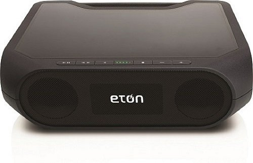 Eton Rugged Rukus Xtreme The Super-Loud, All-Terrain, Smartphone Charging, Dual-Powered Wireless Sound System