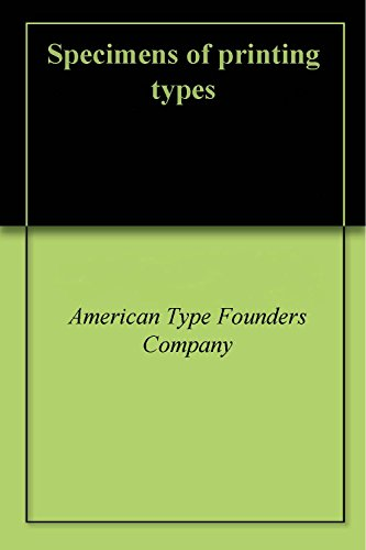 american type founders company - 1