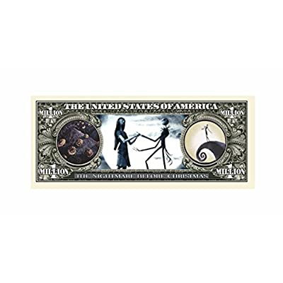 American Art Classics Pack of 10 - Nightmare Before Christmas Limited Edition Collectible Bill - Jack Skellington - Pumpkin King: Toys & Games