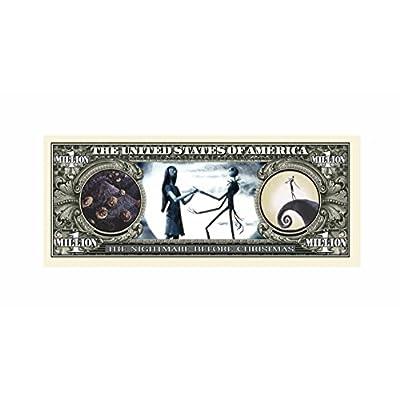 (10) Nightmare Before Christmas Million Dollar Bill: Toys & Games