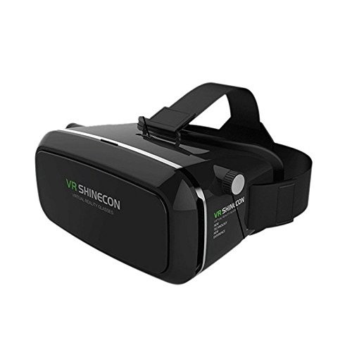 Flying Bird On Wind Shinecon Pro Google Cardboard VR BOX Version VR Virtual Reality Glasses Shutter Movies Games for 3.5''-6.0'' Smartphone