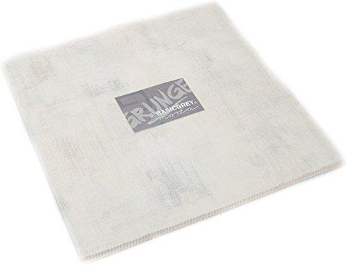 (BasicGrey Grunge Basics Crème Junior Layer Cake 20 10-inch Squares Moda Fabrics 30150JLC 270)