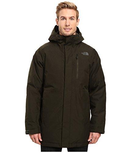 - The North Face Mount Elbert Parka Rosin Green Heather Men's Coat
