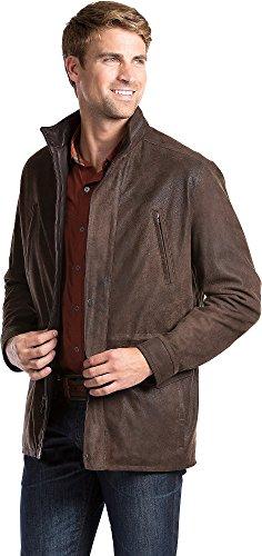 Distressed Italian Leather Jacket - 1