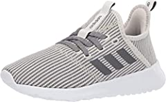 Explore your surroundings. These adidas running-inspired shoes feature a foot-hugging knit upper and a female-friendly fit. Soft midsole cushioning adds comfort as you head out for coffee or discover a busy side street.