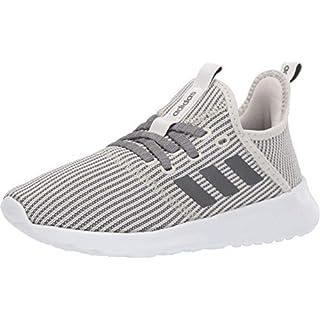 adidas Women's Cloudfoam Pure Running Shoe, Raw White/Night Metallic, 11 Medium US