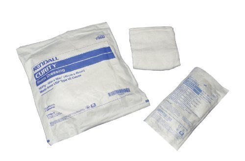 Curity Burn Dressings by Kendall ( DRESSING, BURN, CURITY, 10-PLY, 18''X18'' ) 70 Each / Case