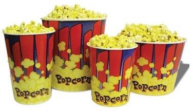 Popcorn Tubs - 170 Oz ()