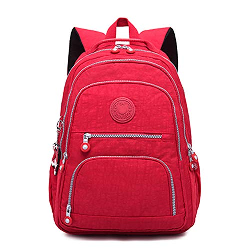 Backpacks Women School Backpack for Teenage Girls Female Mochila Feminina Mujer Laptop Backpack Travel Bag 2019,red,31CMX14CMX42CM 989 (Best Car Seat Travel Bag 2019)