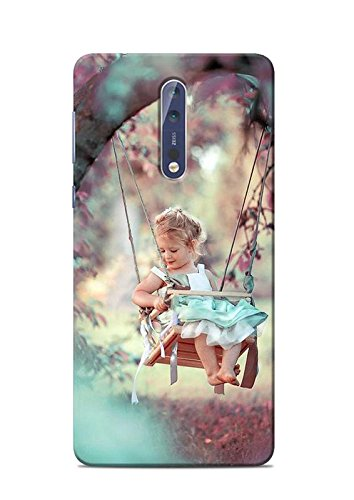 promo code 8d304 b2ed2 Print Station NOKIA5-5532 Baby Girl On The Swing: Amazon.in: Electronics