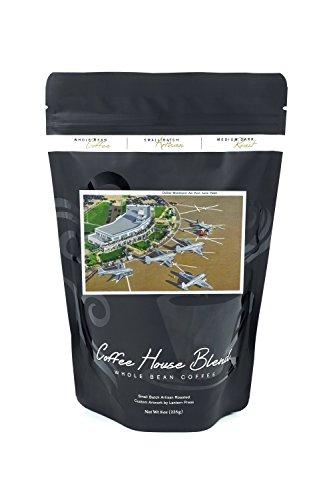 Dallas, Texas - Aerial View of Love Field at Dallas Municipal Airport (8oz Whole Bean Small Batch Artisan Coffee - Bold & Strong Medium Dark Roast w/ - Dallas Port Air