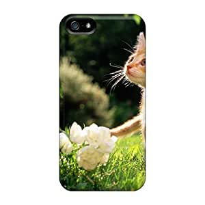 Hot Snap-on Flower Kitten Hard Protective For SamSung Note 2 Phone Case Cover