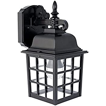 Feit Electric Led Black Lantern Security Outdoor Light