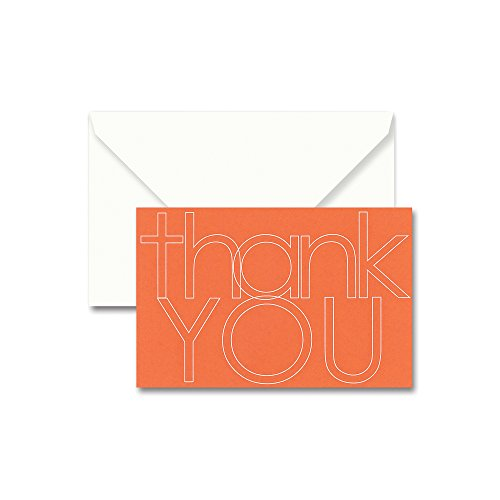 CT1415 Crane /& Co Multi-lingual Thank You Note