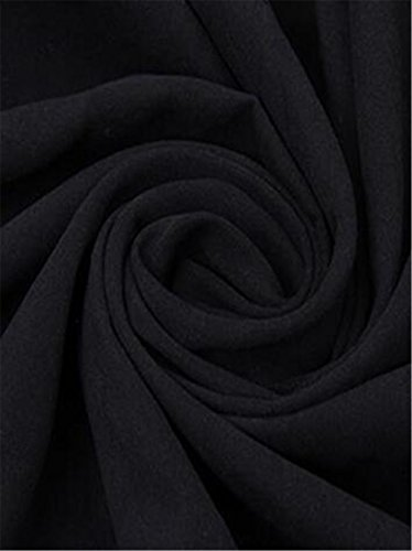 Mujer Larga BESTHOO Largo Abrigos Manga Outwear Cardigan Capucha SÓLido Color Bolsillo Abrigos Ocasionales Con Coat Joven Con Tops Black Chaquetas tAEctqywB