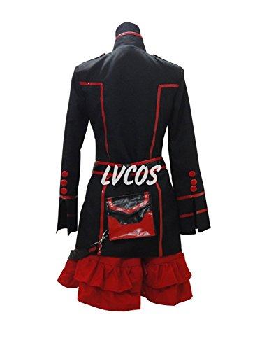 Anime Cosplay Costume D.Gray-man Season 3 New Uniform Female Uniform