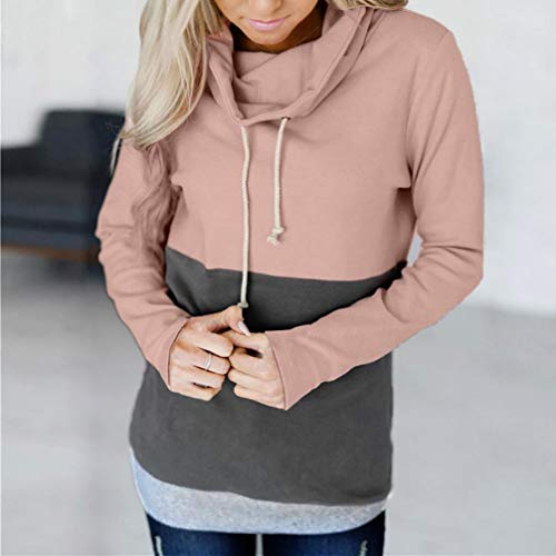 Capuche Casual Sweat Hoodie Pull Chemisier Blouse Manteau Subfamily Sport Femmes Femme Tops Rose Chic Hiver Mode gHnFq