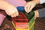 Moonjar Classic Save Spend Share 3-Part Tin