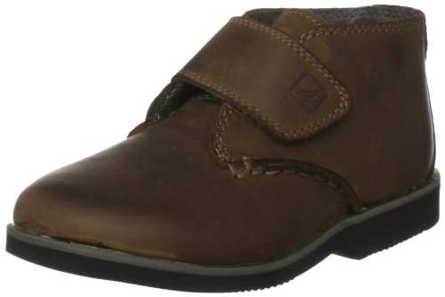 Sperry Top-Sider Gunnel Oxford Mid Boot H&L Boot (Toddler/Little Kid/Big Kid),Chocolate,4 M US Big Kid