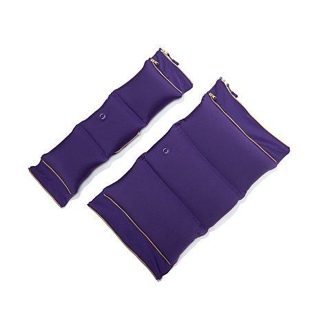 JOY-FleXassage-Hands-Free-Body-Massager-Pillow-with-Neck-Massager-Violet-Purple