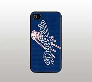 Los Angeles Dodgers Hard Snap-On Case for iPhone 5 - Black - Custom Cover - LA Baseball