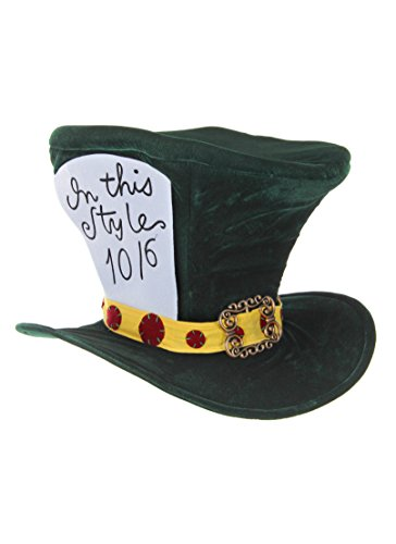 The Classic Mad Hatter Hat by elope (The Rabbit From Alice In Wonderland Costume)